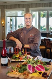 Chef Michael Schenk, Farmer's Table, Photo by Jerry Rabinowitz