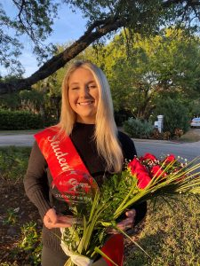 Grace Bauer, co-candidate of Team C&G, winners of the 2021 Palm Beach – Treasure Coast Students of the Year campaign