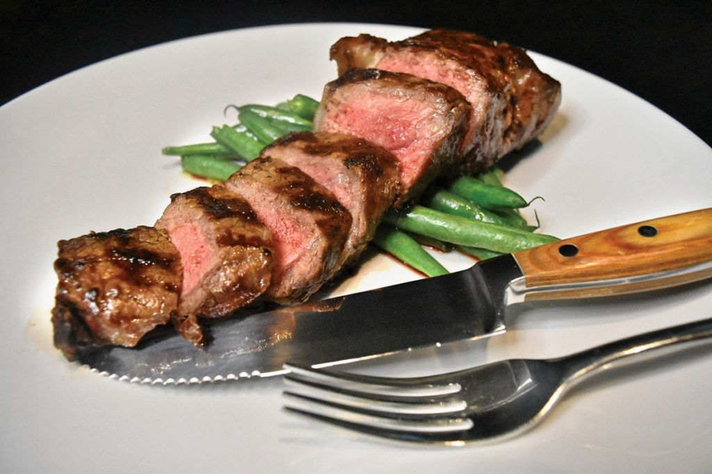 Meating Street New York Strip steak