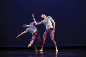 Camilo A. Rodriguez (left) and dancer Anders Southerland, Photo by Joe Semkow