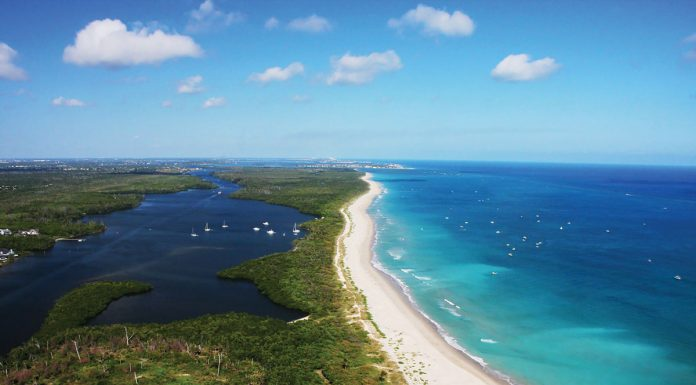 Cubic Beach Inlet, Photo courtesy of Martin County Office of Tourism & Marketing