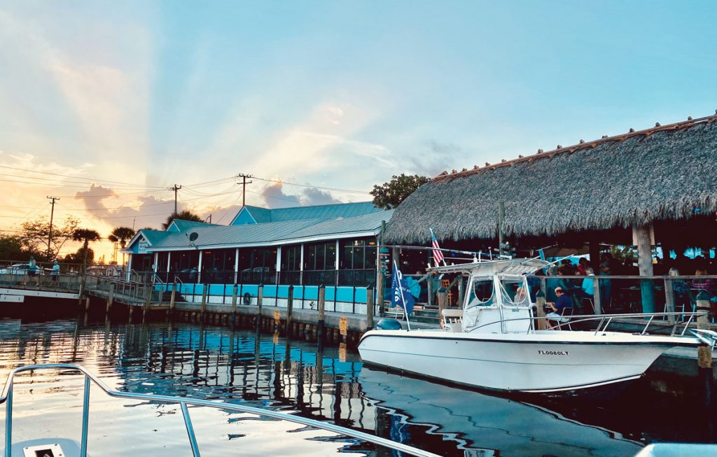 Manatee Island Bar & Grill's original Port Salerno location