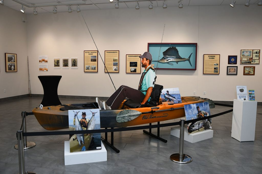 The Lure of Florida Fishing exhibition at the Elliott Museum in Stuart