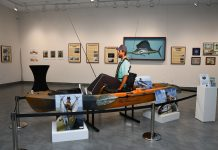 The Lure of Florida Fishing exhibition at the Elliott Museum