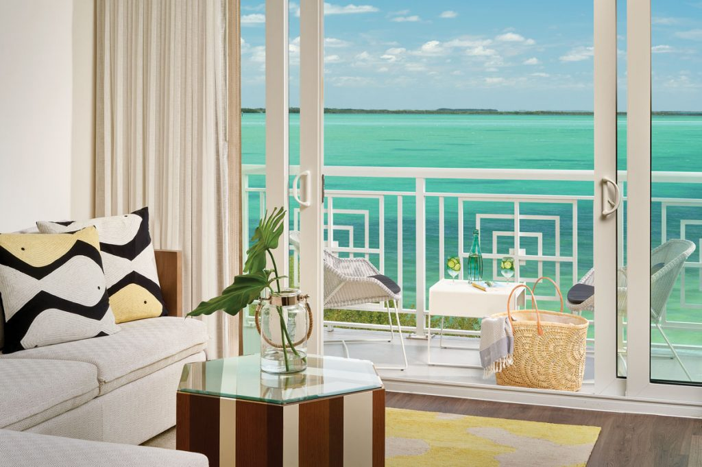 Enjoy stunning views from your suite at Baker's Cay