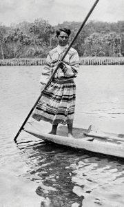Man in Canoe (1915)