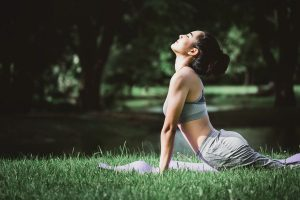 Outdoor yoga in Martin County