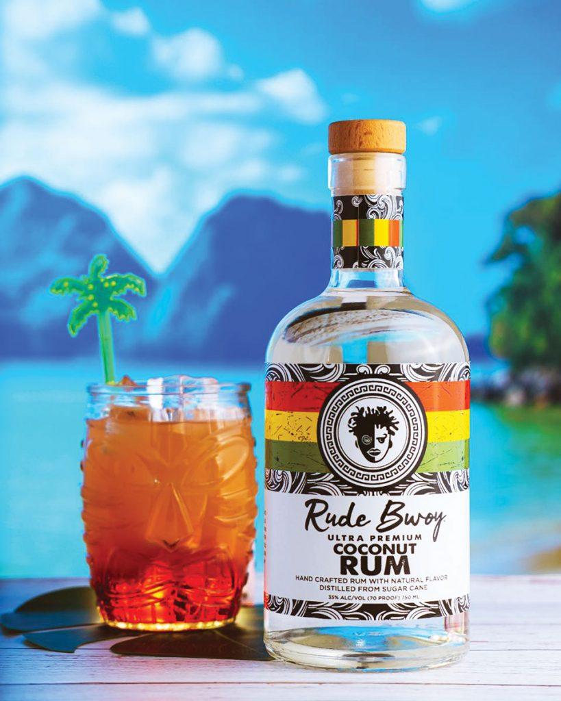 Rude Bwoy coconut rum