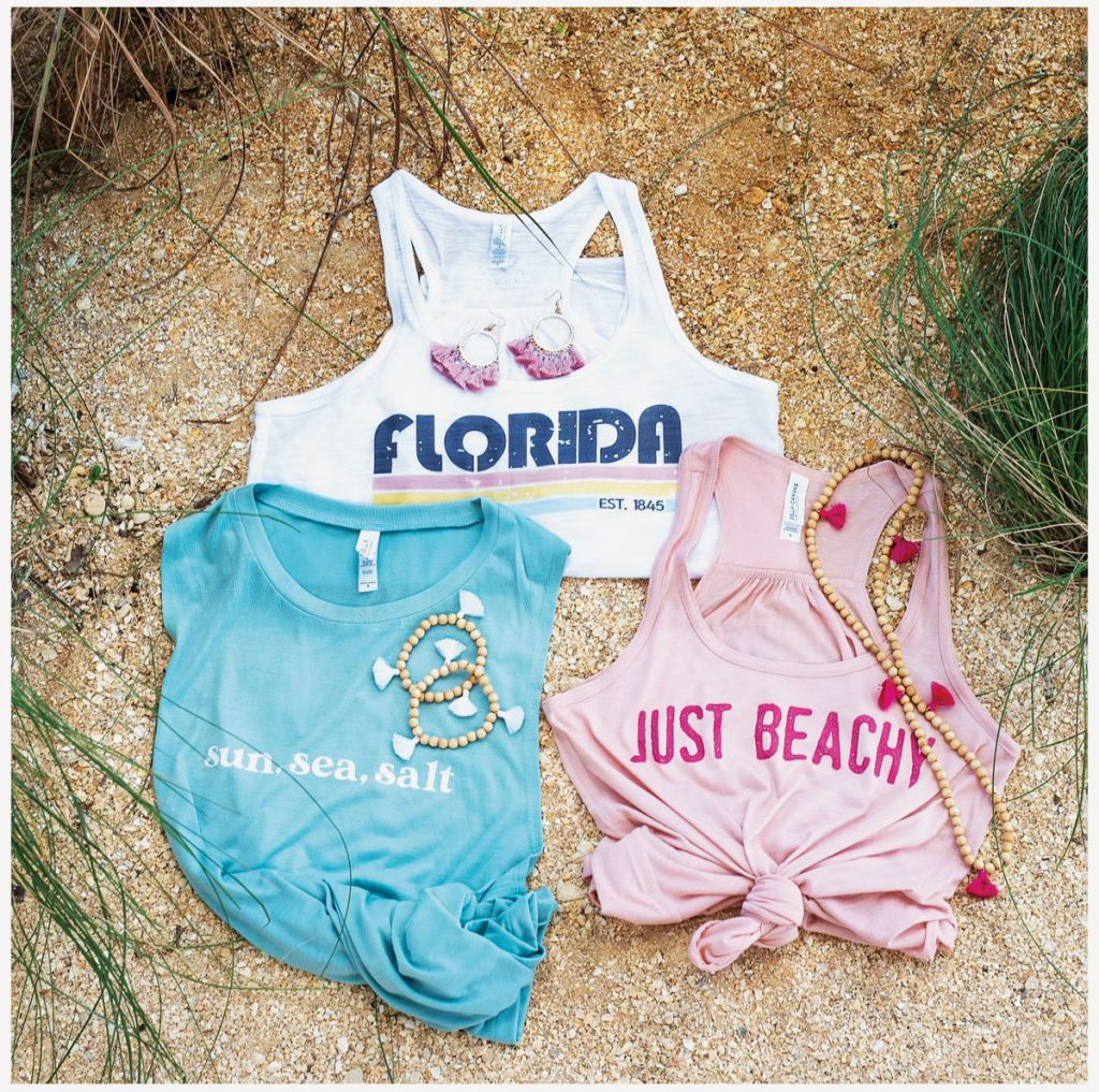 A few items from Tassels and Tanks' Florida Subscription Box, Pretty Amazing Photography