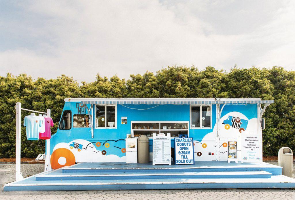 Charlie's Donut Truck in Alys Beach